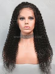 130% Density Full Lace Wig Deep Curly Human Hair