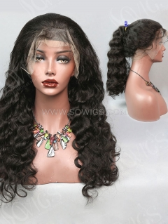 130% Density 360 Lace Wig Loose Wave Human Hair