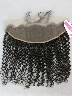13*4 Lace Frontal Deep Curly Human Hair