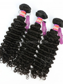 3 Bundles Deep Curly Human Virgin Hair