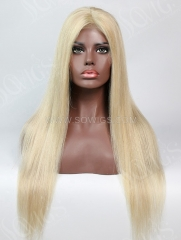 180% Density P#18-613 Color Lace Closure Wig Straight Human Hair