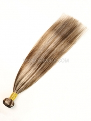 1 Bundle Brazilian #P4/18 Color Straight Human Hair