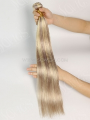 1 Bundle Brazilian #P18/24 Color Straight Human Hair