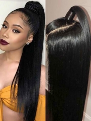 130% Density 360 Lace Wig Straight Human Hair