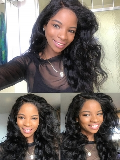 180% Density Lace Front Wig Loose Wave Human Hair