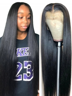 Bundles With Lace Base Closure Straight Sewing Wig