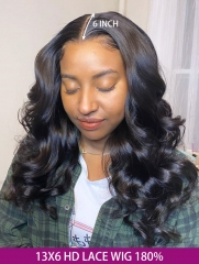 180% Density 13x6 HD Lace Frontal Wig