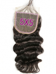 5*5 Lace Closure Loose Wave Human Hair