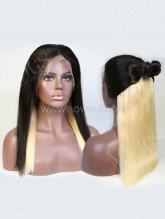 180% Density Hidden Glam Color Straight Lace Front Wig