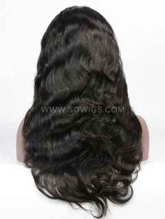 130% Density Silk Top Body Wave Full Lace Wig Human Hair