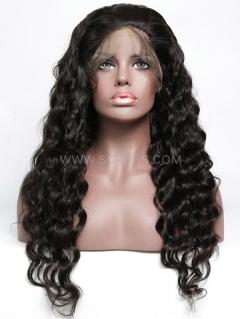 130% Density Silk Top Loose Wave Full Lace Wig Human Hair